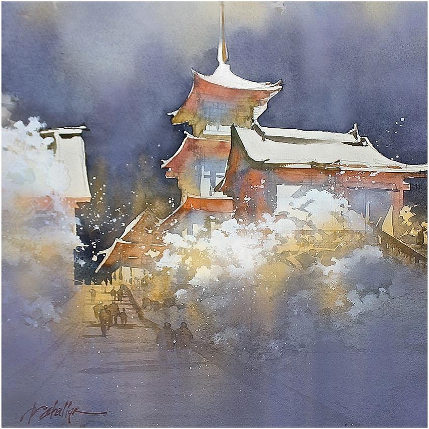 Kiyomizu-dera - Winter