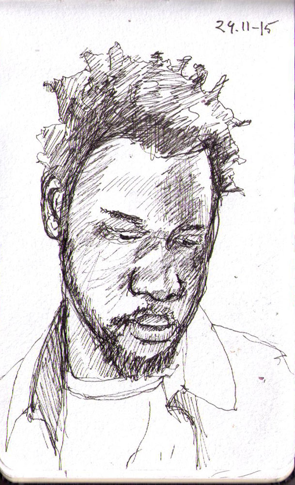 thomas-dalsgaard-clausen-2015-11-24b sketch of redditor in pen