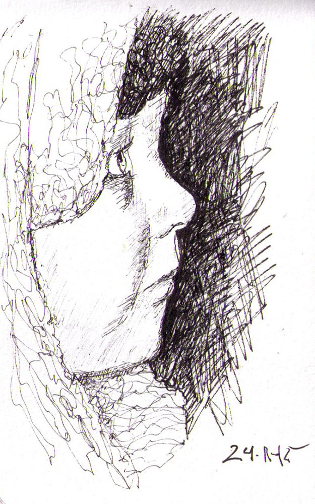 thomas-dalsgaard-clausen-2015-11-24d sketch of boy in profile