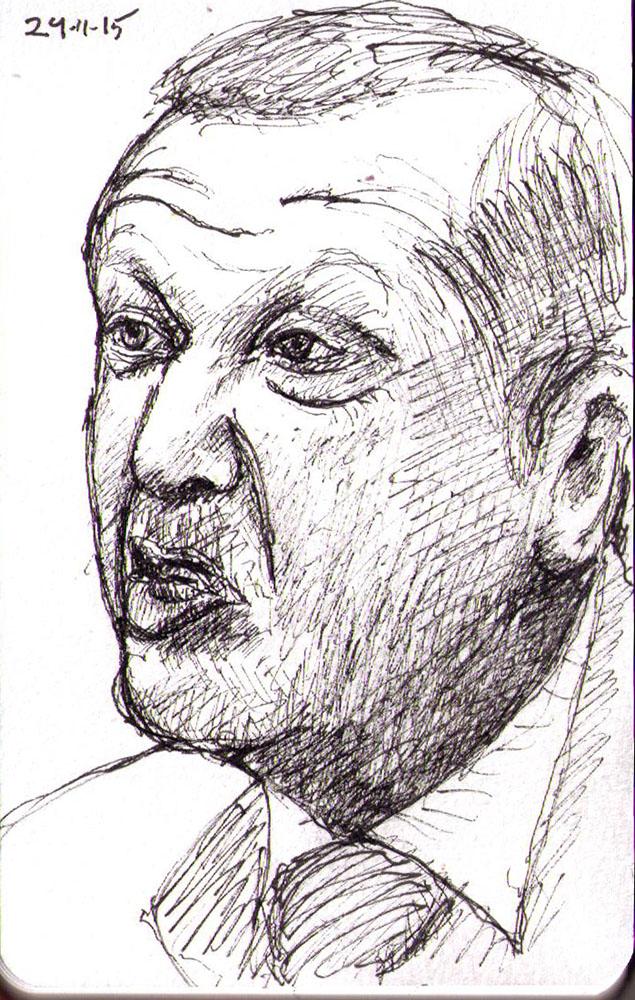thomas-dalsgaard-clausen-2015-11-24e sketch turkish president erdogan