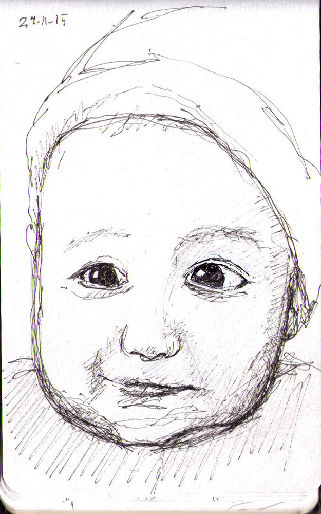 thomas-dalsgaard-clausen-2015-11-24f smiling baby sketch
