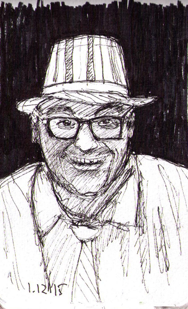 thomas-dalsgaard-clausen-2015-12-01c sketch of a balloon artist in pen.jpg