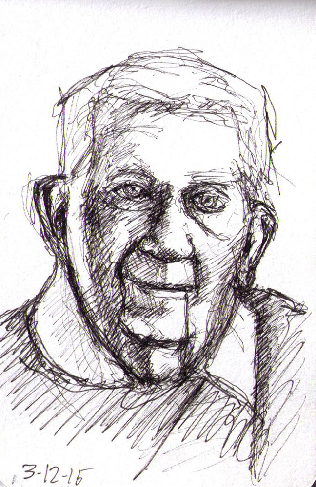 thomas-dalsgaard-clausen-2015-12-03a sketch of a granddad in pen